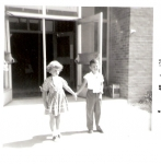 Jill Dickson & Mike LaBerge at Sandburg for Kindergarten (back then it was Sandburg Jr. High. Meadow Lake wasn't built