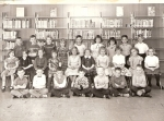 Jill Dickson's 1st grade class at New Hope Elementary